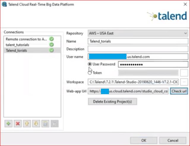 Talend Version Control Step 6
