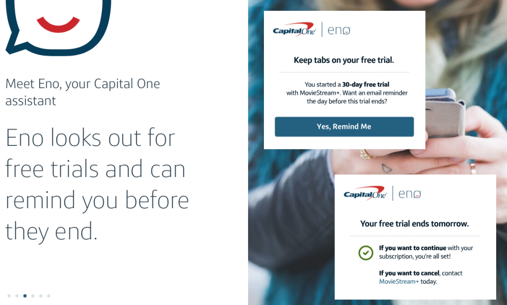Eno Capital One assistant